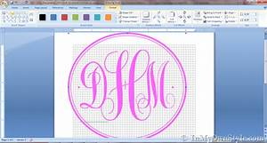 how to create a monogram using microsoft word in my own With how to make a monogram