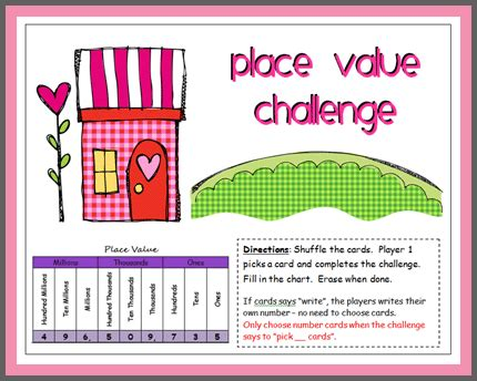 Place Value For 3rd Graders  Place Value Worksheets For Practice1000 Images About On Pinterest
