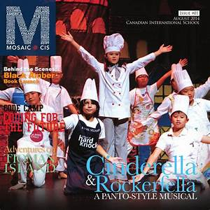 Mosaic@CIS 2014 - Issue#1 by Canadian International School ...