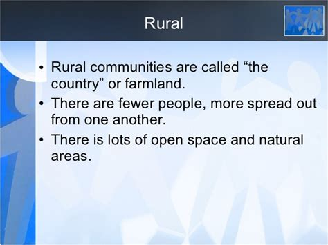 grade  social studies urban  rural communities