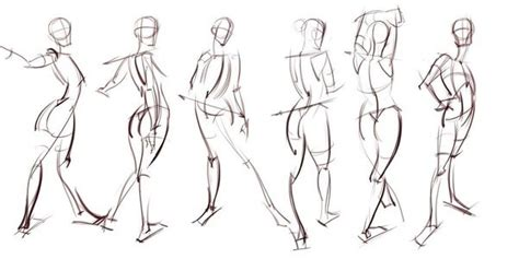 differences  figure drawings gesture