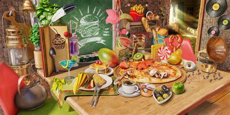 jeu gratuit de cuisine objets cachés nourriture gratuit jeux applications