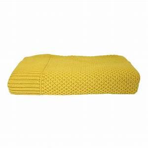plaid jaune moutarde With tapis jaune avec plaid canapé gifi