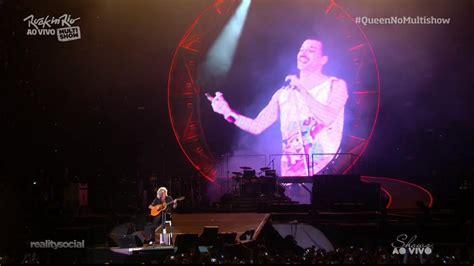 En Rock In Rio 2015 Queen Rinde Tributo A Freddie Mercury