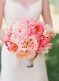 Peonies Wedding Bouquet Pink Roses