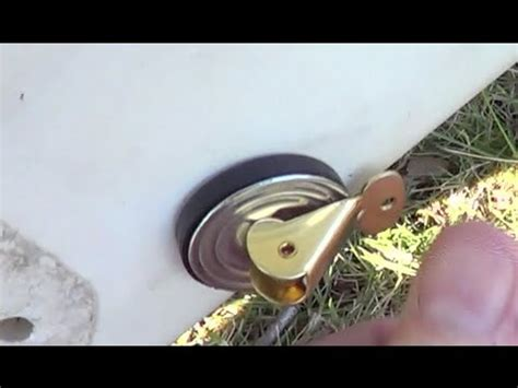 Installing New Boat Drain Plug by Diy Guide 2 Boat Drain Tube Tutorial Doovi