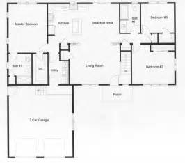 one open floor plans 3 bedroom floor plans monmouth county county jersey rba homes