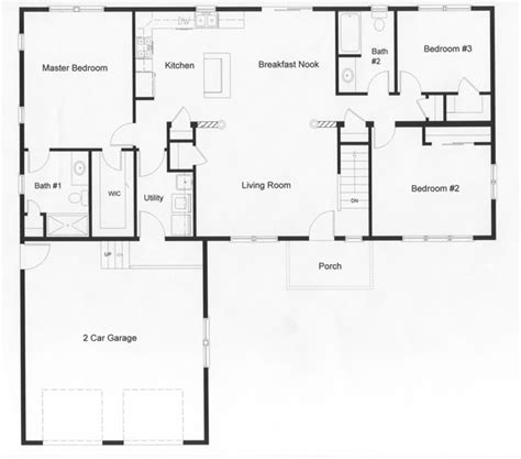 ranch floor plans monmouth county ocean county