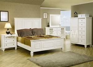 White bedroom furniture sets for any decor inertiahomecom for Bedroom set white