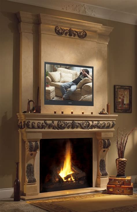 Cast Fireplace Mantels - 1000 ideas about fireplace mantles on