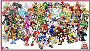 Sonic The Hedgehog Characters Wallpaper - impremedia.net