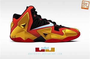 Nike Lebron XI 'Iron Man' by BBoyKai91 on DeviantArt