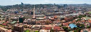 Google Map of the City of Kampala, Uganda - Nations Online ...