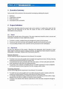Project charter template hashdoc for Project documents definition