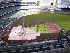 At T Park Seating Chart Rows Miller Park Section 417 Rateyourseats Com