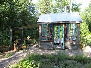 Adirondack Style Inside & Out - Rustic - Garage And Shed