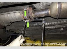 BMW Z3 Exhaust System Replacement E36 19962002