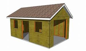 23 Free Detailed Diy Garage Plans With Instructions To