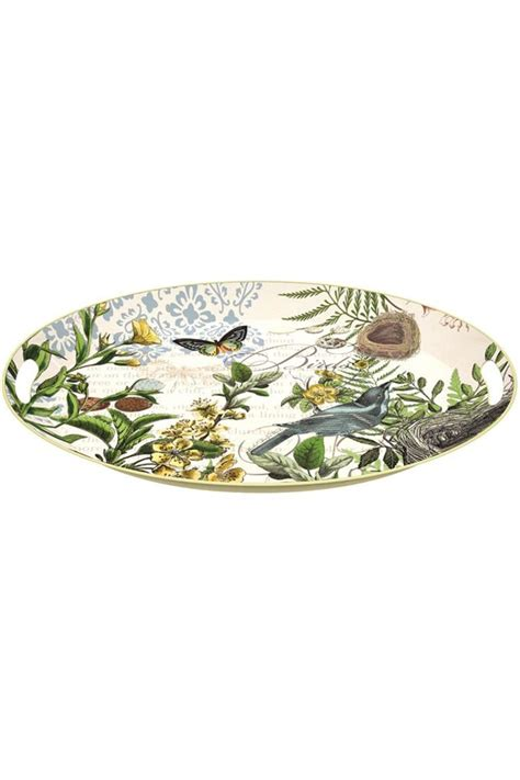 michel design works trays michel design works woods oval tray from boulder by