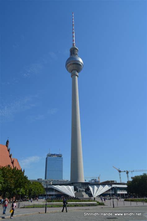 Fernsehturm Berlin by Berlin Tv Tower Berliner Fernsehturm Enidhi India