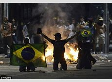 Brazil riots One million protest at government spending