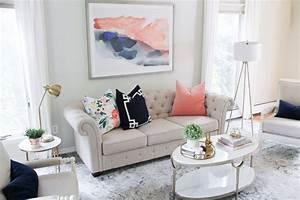 Light Und Living : a light and airy living room reveal kiss me darling ~ Eleganceandgraceweddings.com Haus und Dekorationen