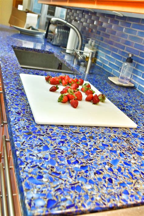 recycled glass countertop 46 best images about vetrazzo on west coast