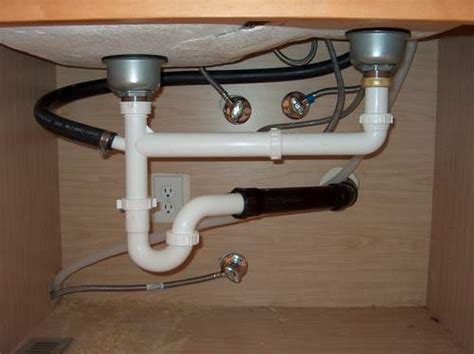 Plumbing  2 Sinks On One Drain Line  Home Improvement