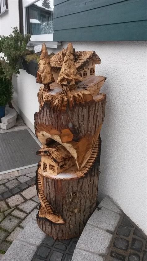 magickbohemian wood carving chainsaw wood carving wood