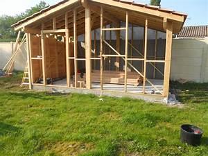 Cabane En Bois De Jardin : construction d 39 abri de jardin en bois les cabanes de ~ Dailycaller-alerts.com Idées de Décoration