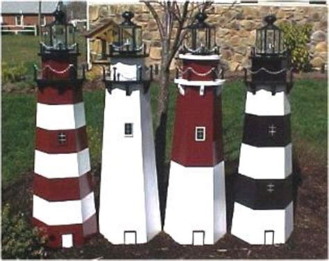 lighthouse building plans lawn lighthouse woodworking