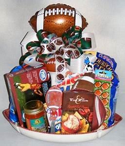 Touchdown Football Lovers Gift Basket
