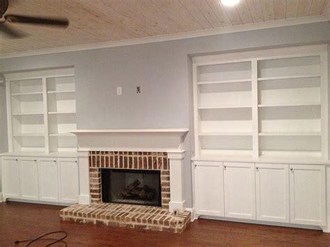 fireplace mantel custom cabinets gallery fireplace bookshelves home vid
