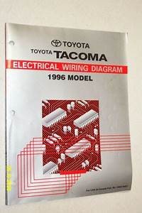 1996 Toyota Tacoma Electrical Wiring Diagrams Manual
