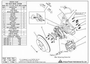 Rear Disc Brake Diagram