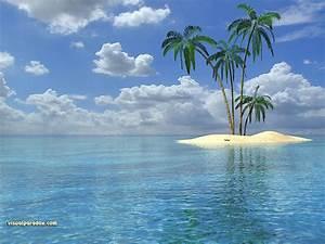 Free 3D Wallpaper 'Isle' 1024x768