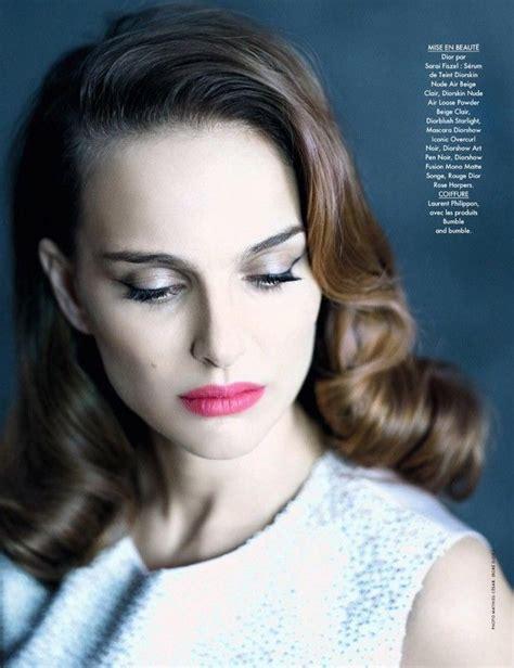 Natalie Portman For Elle France Mathieu Cesar Cinema
