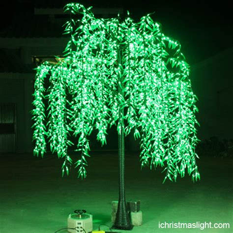 christmas lights for outdoor trees decorative willow tree with lights for ichristmaslight 6443
