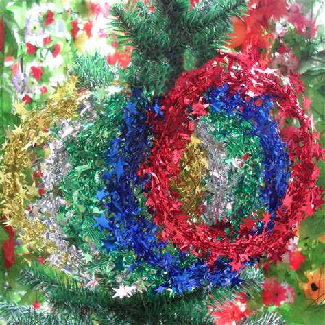 christmas xmas tree decoration star rattan ornament
