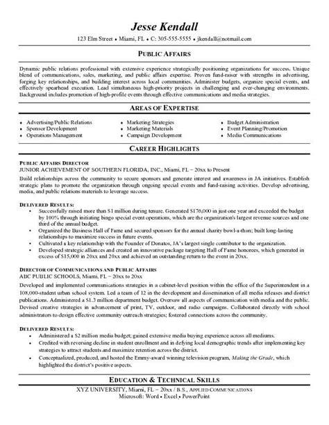 19644 relations resume template relations resume exles resume