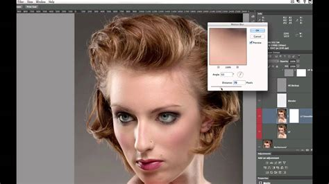 advanced photoshop techniques frequency separation
