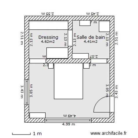 chambre parentale avec dressing et salle de bain plan chambre parentale avec salle de bain et dressing 10