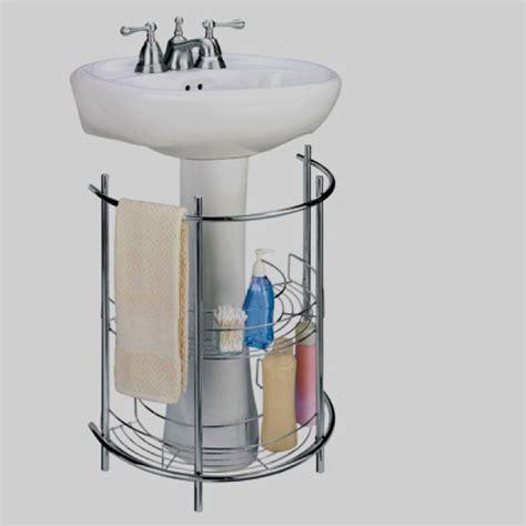 Pedestal Sink Organizer Pedestal Sink Storage Solutions