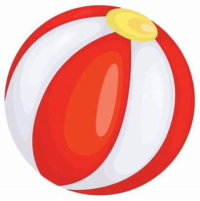 Ball Beach Clipart Transparent Clip Background Balls