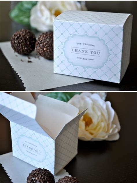diy favor boxes wedding ideas diy wedding favors