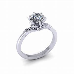 Delicate Bow Engagement Ring Jewelry Designs