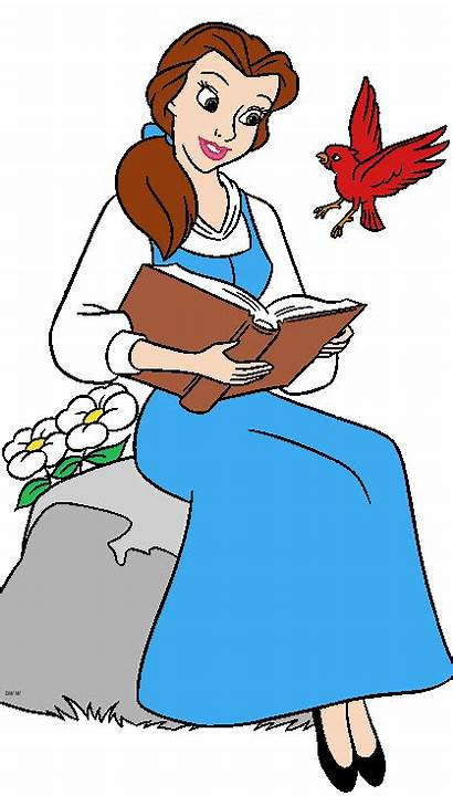 Belle Beast Beauty Clipart Disney Princess Shopkeeper