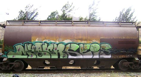 Train Artwork by Art Crimes Trains 329 South American Trains