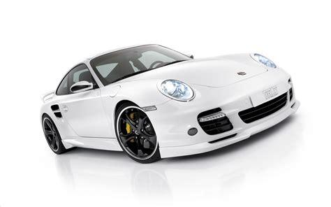 Porsche Techart Design White Wallpaper