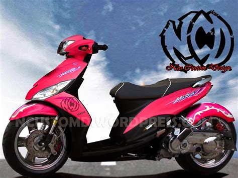 Modifikasi Motor Yamaha Mio J by Modifikasi Motor Matic Mio J Warna Pink Galeri Gambar